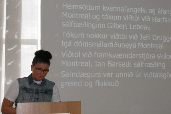 Styrkveiting Vísindasjóðs Félagsráðgjafafélagsins árið 2011