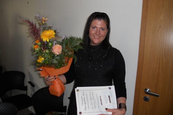 Styrkveiting Vísindasjóðs Félagsráðgjafafélagsins árið 2010
